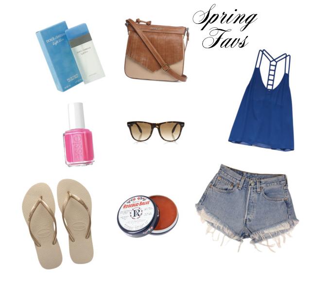 Spring Fav's
