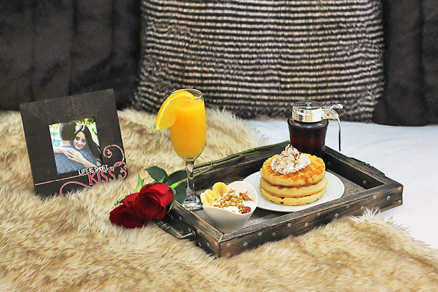 A Valentines Day Breakfast In Bed