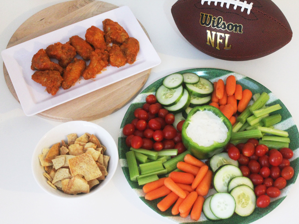 Easy & Healthy Super Bowl Appetizer: Veggie Tray