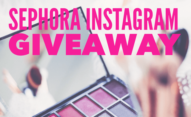$100 Sephora Giftcard Giveaway
